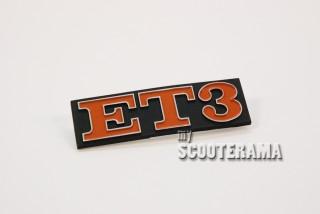 Insigne arrière ET3