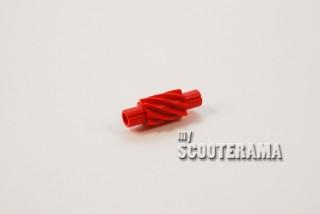 Engrenage compteur Vespa Petite coque 8 dents helicoidale