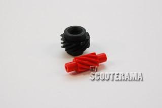 Engrenages compteur Vespa Petite coque 8 dents helicoidale