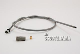 Transmission compteur - cable fin - Vespa 150GL 1964, Vespa 125 GT ligne carré