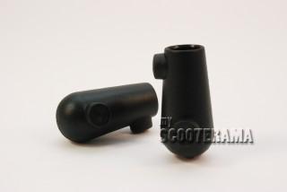 Paire de caoutchoucs béquille - diamètre 20mm - Vespa 50, Special, Primavera, ET3