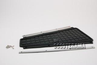 Tapis poutre centrale complet avec baguettes et vis - Vespa PX 1ere série, Vespa2