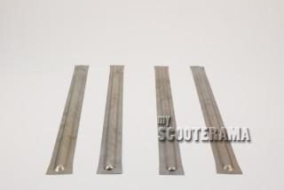 Set 4 Renforts plancher Vespa 51/54 largeur plancher 49,5/50cm
