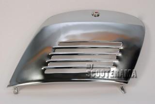 Portière moteur chromée à clé - 32x22cm - Vespa 50, special, Primavera, ET3