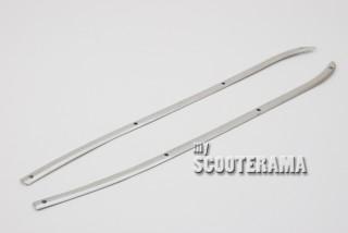Set 2 baguettes tapis poutre centrale - Vespa 125/150 VNB, VBA, GTR, Sprint, Super Rally