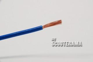 FIL PVC A PAROI MINCE 32/0,20 16,5A, BLEU