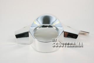 Couvre guidon chromé - Vespa PX à partir de 1998 - équipé d'un frein à disque