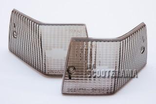 Paire plastique clignotant arrière noir - Vespa PX/T5