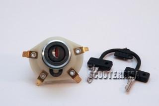 Interrupteur à clé - Vespa 50 special, Primavera, Elestart, ET3, GTR, Rally, PX