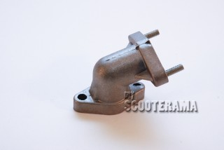 Raccord echappement majoré trou diam.8mm - Vespa 50 - 90 - 125 Primavera - ET3 - PK 50 - PK 50 XL