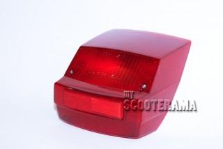 Plastique rouge feu arrière - Vespa PX125/150/200E, Vespa 2 - jusqu'en 1983