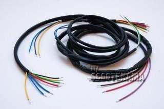 Faisceau electrique Vespa 125 Primavera (VMA1T/VMA2T) - modifiable pour Vespa 50S