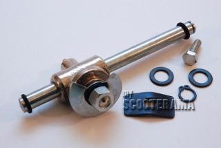 Axe complet  - à encoche - pour ressort avant, Vespa 125 Sprint, GTR, Super, 180/200Rally