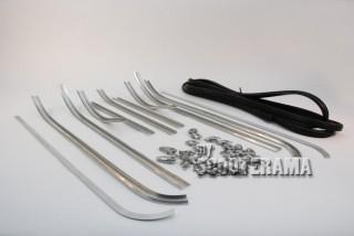 Serie complète baguettes de plancher Vespa 150 GS