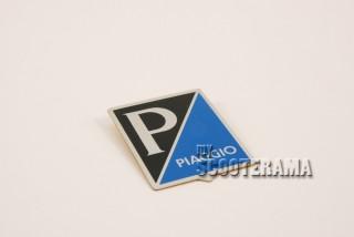"""Insigne autocollante """"Piaggio"""" aluminium"""