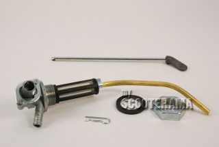 Robinet complet - Vespa PX Arcobaleno, Frein à disque, millenium, 125 T5 - SANS réserve - AVEC graissage séparé