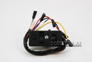 Comodo -7 fils - phare et klaxon - Vespa PX 6 volts sans clignotant - Vespa P125X, P150X/PX150E