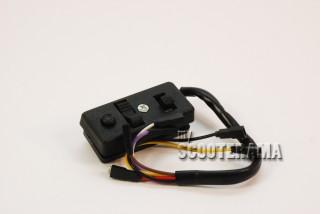 Comodo - 6 fils - phare et klaxon - Vespa PX-PE 6volts sans clignotant P125X, P150X/PX150E, P200E/PX200E