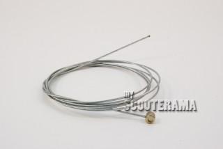 Cable embrayage/frein avant - Vespa/Lambretta - tête fixe