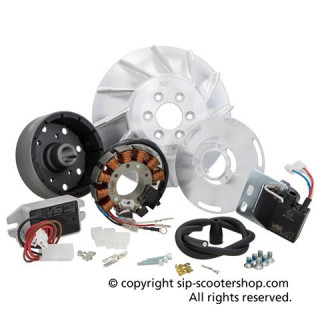 Allumage Electronique SIP VAPE  ROAD Vespa 125 GTR 2°/TS 2°/150 Sprint V 2° /Super 2°/200 Rally 2°/PX80 -200/PE/Lusso/Cosa Cône 19mm
