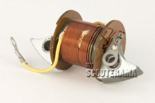 Bobine interne d'allumage - Vespa 90, 125 Primavera, GTR/Sprint avec batterie, 180 Rally - plateau 3 bobines + bobine externe