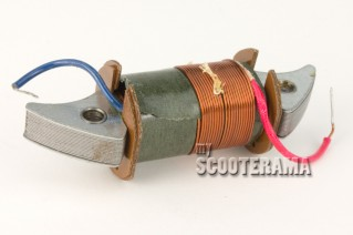 Bobine interne d'allumage - Vespa 50S, 50SS - plateau 2 bobines + bobine externe