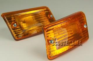Ensemble clignotants arrière orange - Vespa PK50-125XL, PK50 RUSH, PK N, PK FL2