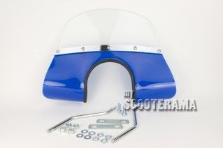 Parebrise bleu - Vespa 50
