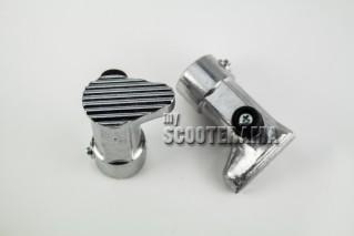 Embout de béquille aluminium - 16mm - 50,Acma,ACMA GL, 150GS