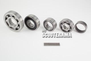 Set de roulements - réfection moteur - Vespa PX 125 à partir 1982, 98, Millenium, 2011, PX200, 200 Rally