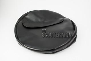 Housse roue de secours - noir - 3.00x10