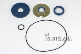 Set complet joints spi bleu CORTECO moteur complet + joints toriques - jusqu'en 1972 - Vespa VNB, VBB, GT, Sprint, GTR, GL, Sprint Veloce