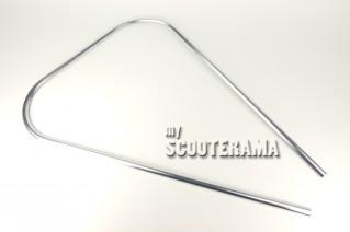 Contour de tablier plastique - chromé - Vespa PX, T5