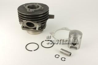 Ensemble Cylindre/piston complet - 3 transferts - Vespa 50, Special, PK50 à vitesse