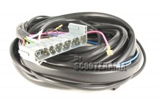 Faisceau électrique - Vespa PX avec démarreur, clignotant, batterie - stator 5 fils