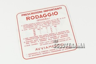 Autocollant Rodage 2%