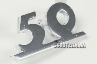 """Insigne tablier """"50"""""""