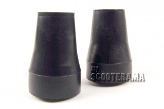 Paire de caoutchoucs béquille diam.22mm Vespa PX - PK