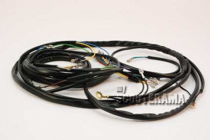 Faisceau electrique - Vespa PX 125-150 P200E - 1981->83 - avec clignotant , sans batterie, sans démarreur