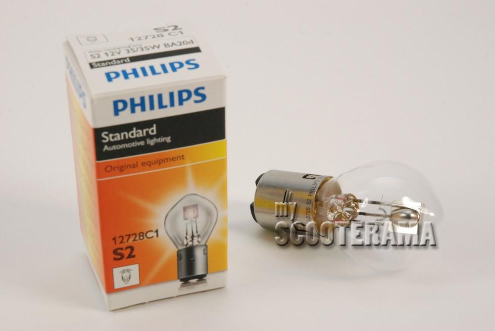 Ampoule BA20D 12V-35//35W