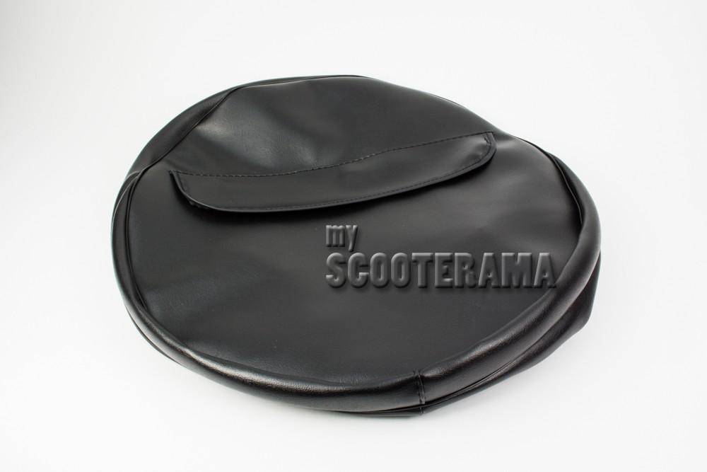 Housse roue de secours noir myscooterama for Housse pour roue de secours
