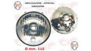 Optique de phare SIEM Vespa 125 Primavera et ET3