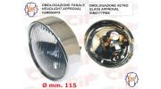 Optique SIEM pour VESPA 125 (1962-1965) - VESPA 150 (1959-1965) - GS (1959-1964) - GL (1959-1962) DIAM 115