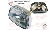 Optique de phare trapézoidale SIEM - Vespa GT, Sprint, GL, 180SS