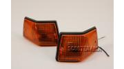 Ensemble clignotants arrière Vespa PX/T5 SIEM