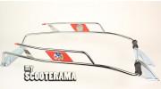 Crash bar arrière Vespa 125 ET3 Primavera VIGANO Rouge