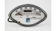Compteur coquillage Graduation 110km/h