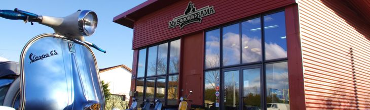 MyScooterama le magasin